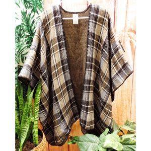 NWOT Woolrich reversible blanket wrap shawl ☕️